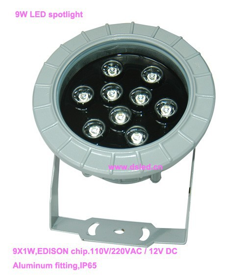 Free shipping by DHL !!  high power 9W LED projector light,outdoor LED spotlight,110V-250VAC,DS-06-20-9W,,2-Year warranty free shipping by dhl high power 9w led projector light outdoor led spotlight 110v 250vac ds 06 20 9w 2 year warranty