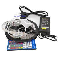 5050 4 Color In 1 Chip RGBW RGBWW Waterproof LED Strip Set 12v 40key IR