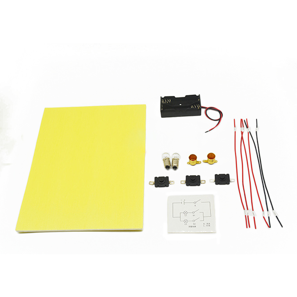 Kids Diy Educational Toys Technology Series Parallel Circuit Connection Science Learning Physical Experiment Stuffs For Children On Alibaba