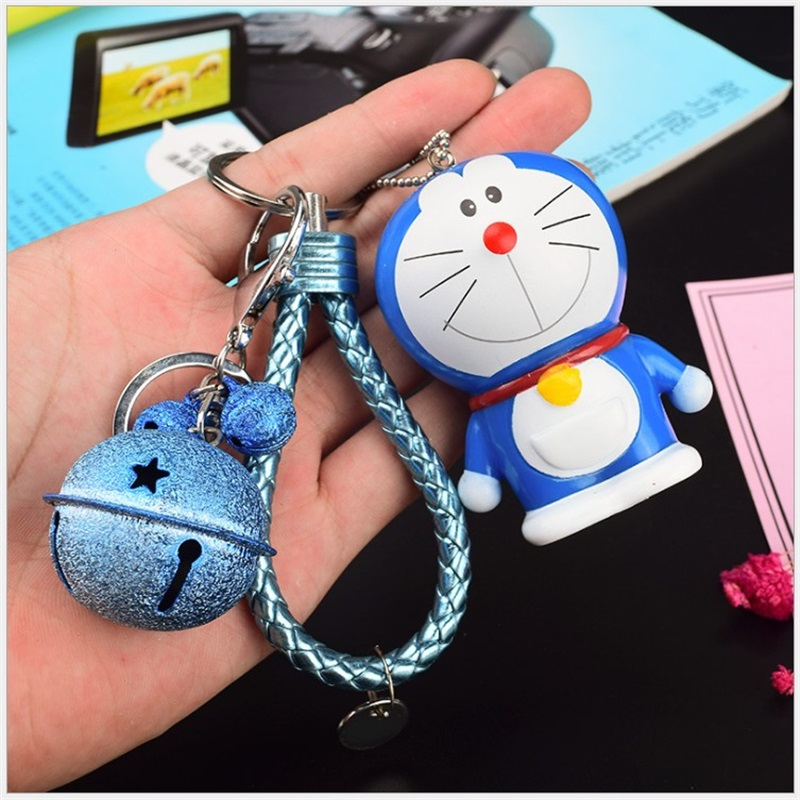 Anime Cartoon Silicone Key Cover Doraemon Rilakkuma Key Cover Key Caps Lovely Keychain Keyring For Kids Gift Action Toy Figure lol game weapon keychain knife holder action figures anime toys pendent garen leona xin zhao riven keyring toy for children gift