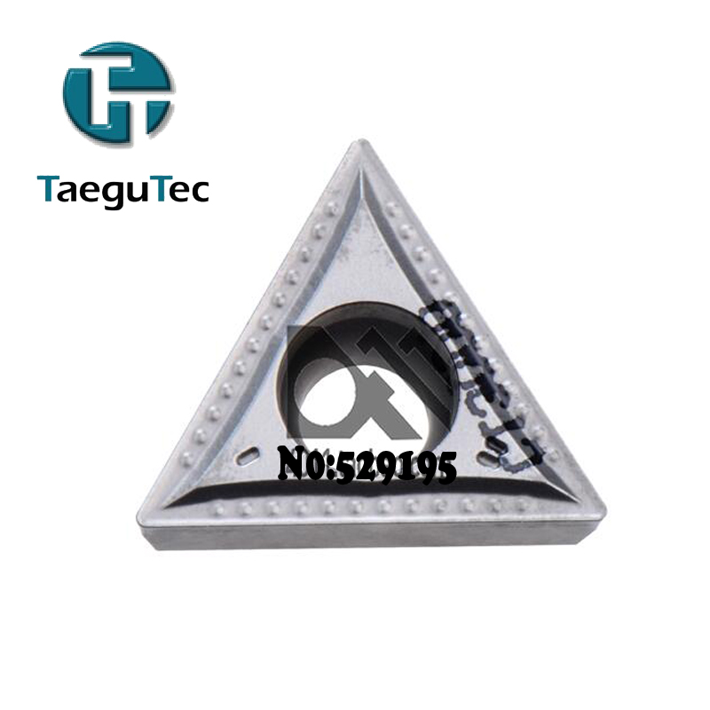 TaeguTec 10pcs Insert TCMT110204-MT CT3000 <font><b>TCMT</b></font> <font><b>110204</b></font> Carbide Inserts Lathe Cutter Tools for Turning Tool Holder CNC Blade image