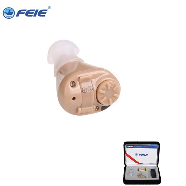 2PCS (A lot) medical equipment ear hearing aid drop ship wholesale S-218 bateria aparelho auditivo
