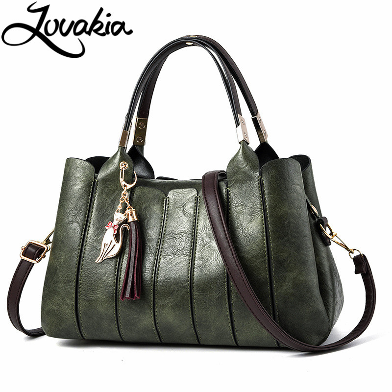 LOVAKIA 2017 new large soft leather bag women handbags ladies crossbody bags for women shoulder bags female big tote sac a main 2017 famous brand large soft leather bag women handbags ladies crossbody bags female big tote green top handle bags sac a main