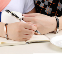 2017 New Her King His Queen Couple Bracelet for Women Men Stainless Steel Love Bracelets Jewelry