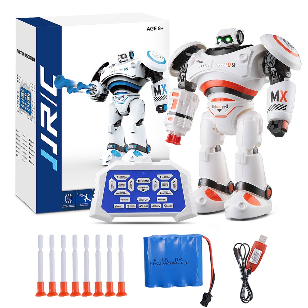 R1 Intelligent RC Robot Programmable Walking Dancing Combat Defenders Armor Battle Robot Remote Control Toys For Child Gifts jjrc r3 rc robot toys intelligent programming dancing gesture sensor control for children kids f22483 f22483