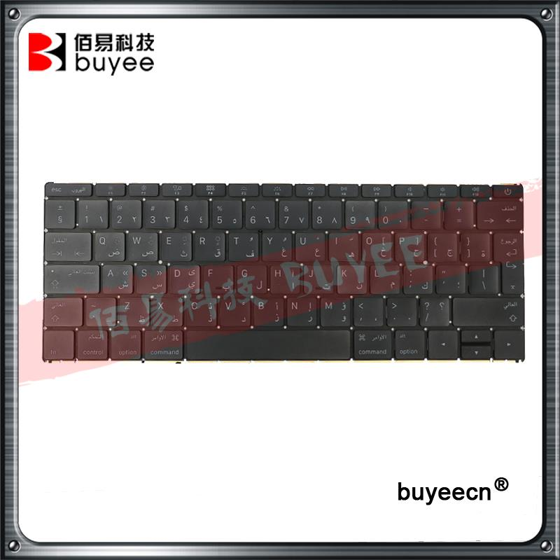 Original 12 Inch A1534 Arabic Keyboards For Macbook Air Retina A1534 AR Keyboard 2016 Year MLHA2 MLHC2 Replacement original new laptop a1708 azerty layout fr keyboards for macbook retina pro 13 inch a1708 french keyboard 2016 year replacement