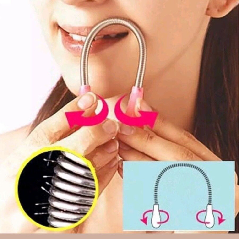 Hair Removal Face Epilator Smooth Facial Hairs Threading Hair Removal Remover High Quality 3.26