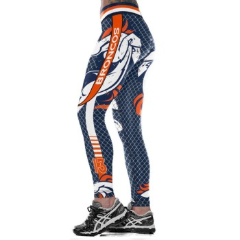 Unisex Football Team Broncos 15 Print Tight Pants Workout Gym Training Running Yoga Sport Fitness Exercise Leggings Dropshipping 1