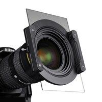 НИСИ V5 комплект 100 мм Стекло квадратный фильтр авиации Алюминий 67 мм кольцо зеркало кронштейн квадратный Plug in лист системы для Nikon Canon