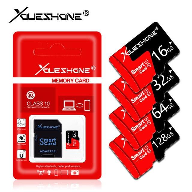 100% Dung Lượng Thật Thẻ Nhớ 8 GB thẻ TF 16 GB 32 GB 64 GB 128 GB cartao de Memoria Mini SD Thẻ quà tặng Bộ chuyển đổi