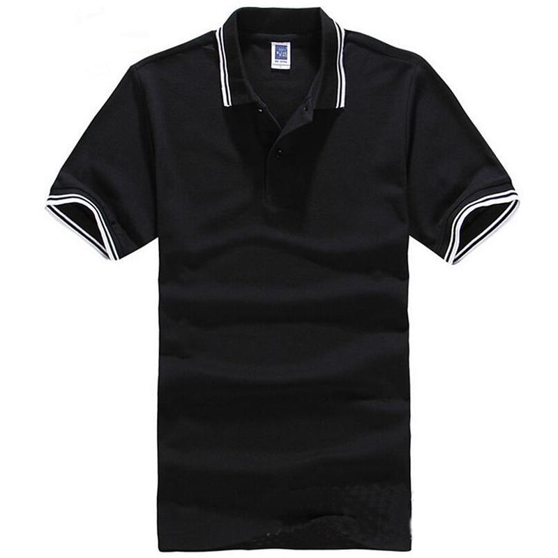 Markenkleidung Polo-Shirt Solide Casual Polo Homme Für Männer - Herrenbekleidung - Foto 3