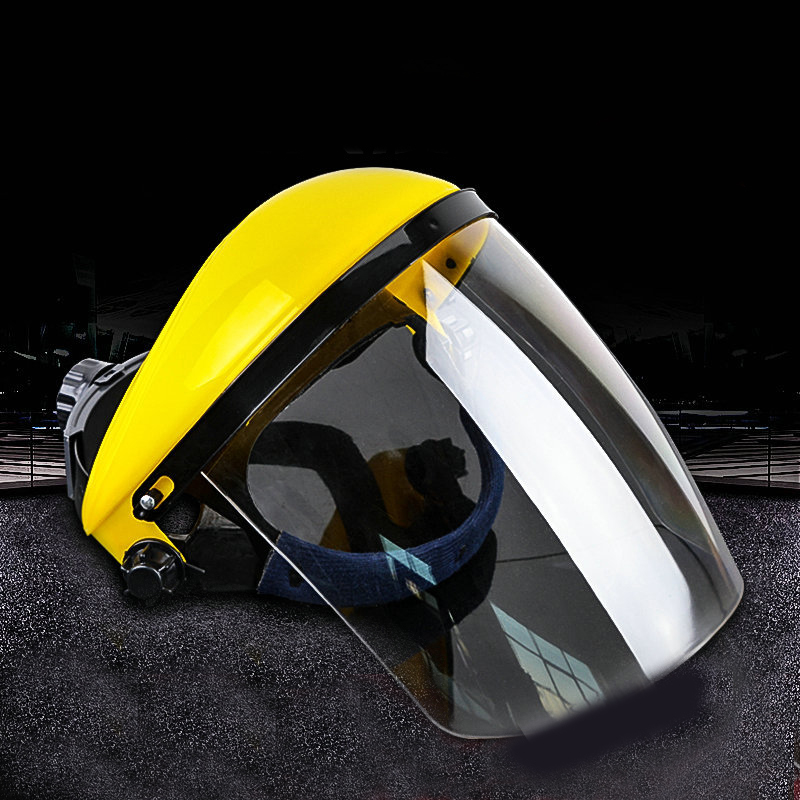 Grinding Helmets Face Mask High Temperature Insulation Mask Grinding Protective Mask op7 6av3 607 1jc20 0ax1 button mask