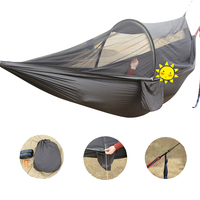 Outdoor Travel Ultra Light Parachute Single Double Mosquito Net Hammock Hunting Outdoor Furniture Camping Garden Hanging Bed