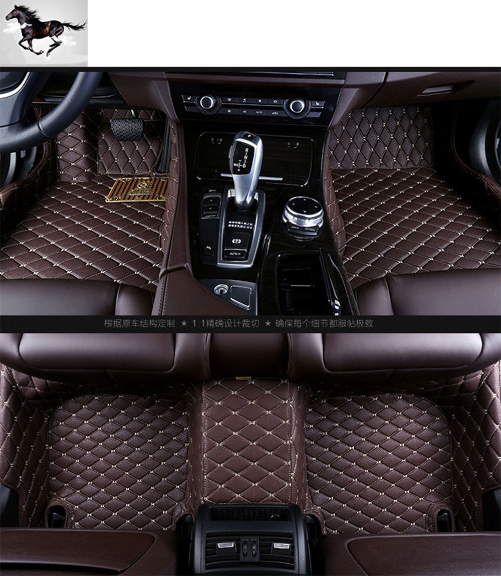 Rubber floor mats discovery 4 - Topmats Set Car Floor Mats For Mitsubishi Pajero Sport 2011 2017 Leather 3d Floor Mat Carpet Cargo Mat Floor Liner Foot Mat