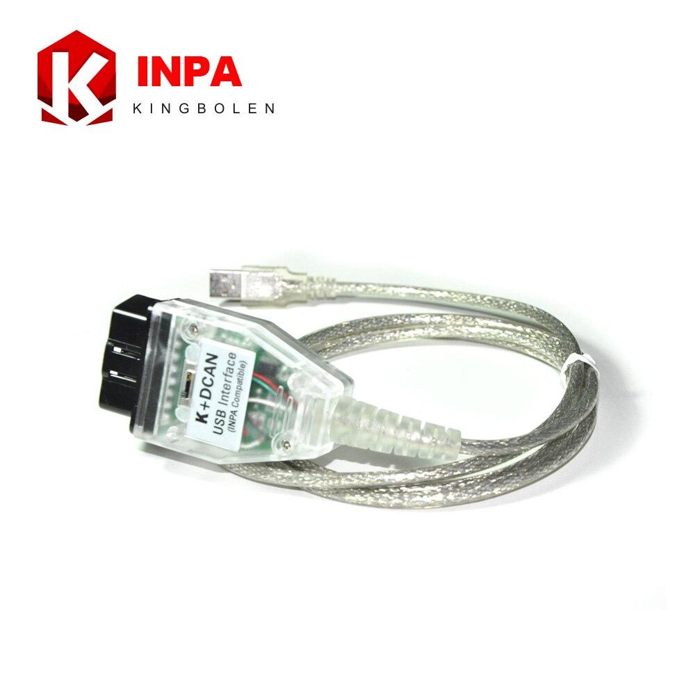 Prix pour Nouvelle Arrivée INPA K + CAN avec Interrupteur Pour BMW Inpa De Diagnostic Scanner DIS SSS NCS Codage Livraison Gratuite