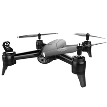 Sg106 Drone 2.4Ghz 4Ch Wifi Fpv Optical Flow Dual Hd Camera Rc Helicopter Follow-Up Headless Mode Quadcopter Selfie Drone,