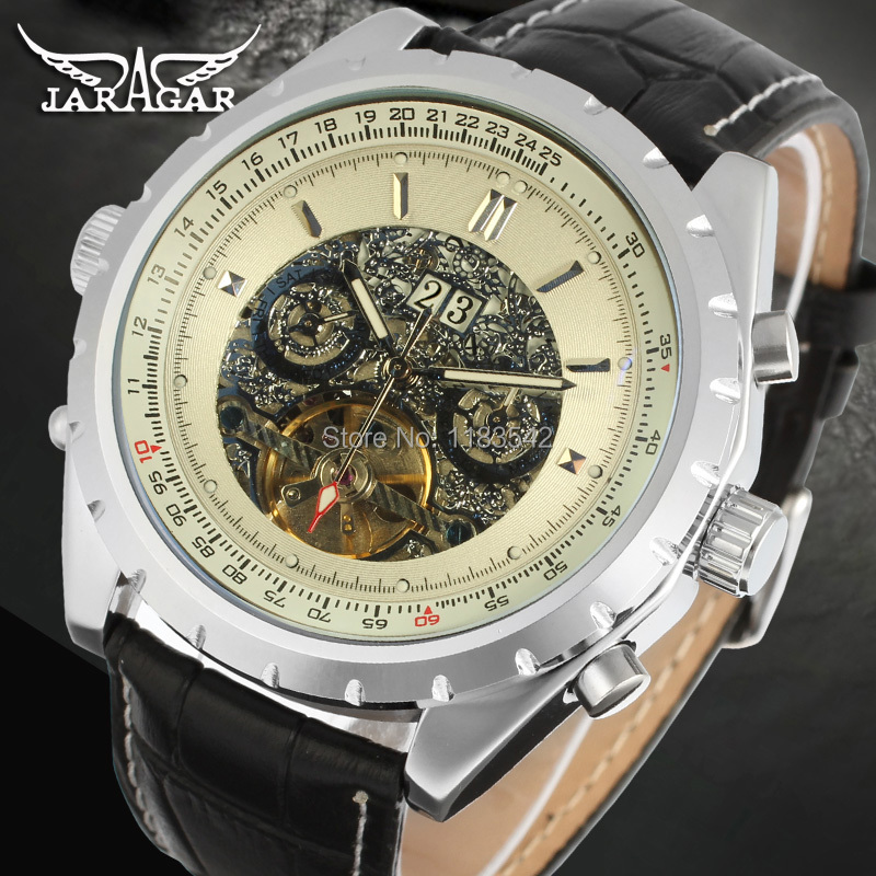Famous Brand Jargar Automatic Watches Men Business Style Men Watch Free Shipping JAG212M3S1