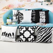 Decorativo cojín silla cojines sofá almohadas funda vintage de lona cojines decoración del hogar decorativas almofadas