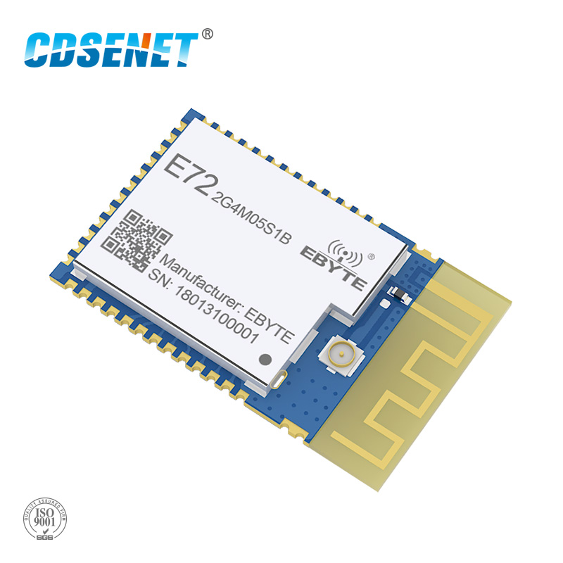 US $5 49 16% OFF|Bluetooth Module 2 4GHz CC2640 ibeacon BLE4 2 Low Energy  CDSENET E72 2G4M05S1B rf Transmitter and Receiver-in Fixed Wireless
