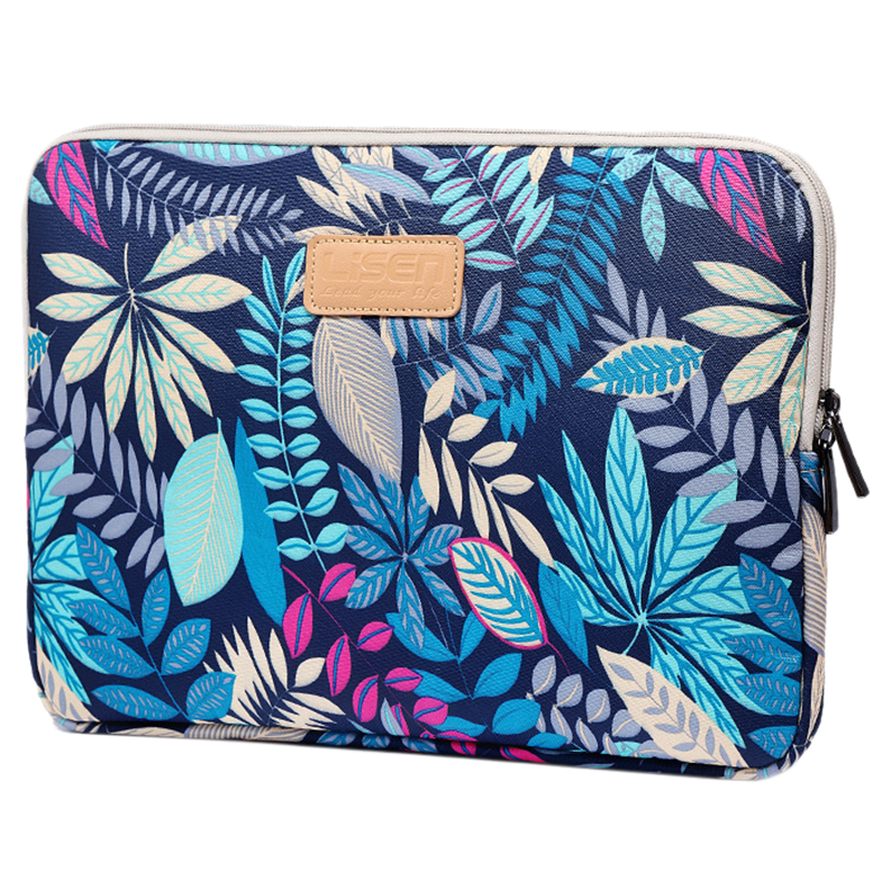 LISEN Laptop Sleeve Case 14 inch Computer Bag, Notebook,For ipad,Tablet,For MacBookBlue Forest)