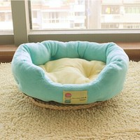 Free Shipping Colorful Pet House Cat And Dog Bed 7 Colors Pink Blue Purple Brown Green