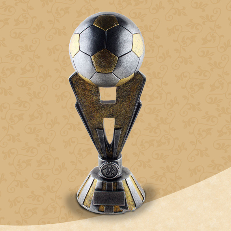 Sport Series Football Souvenir Trophies European Style Resin Soccer Fans Souvenir Collection Toy G746