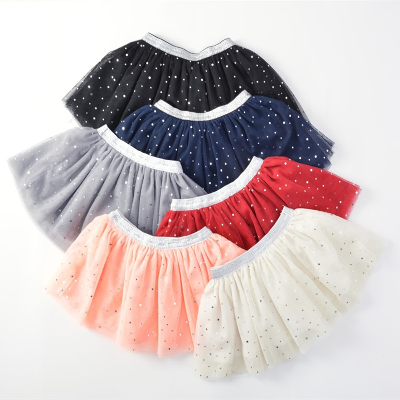 Baby Girls Tutu Skirts Children Girl Silver Belt Polka Dot Sequined Skirt Child Princess Summer Clothing Clothes In From Mother Kids On