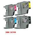 12x Картриджи LC12 LC40 LC1220 Для Brother MFC-J625DW MFC-J860DN MFC-J860DWN MFC-J960DN-B DCP-J925N DCP-J525W DCP-J940N-W