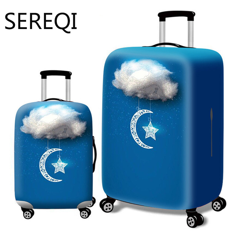 Sereqi Thicken City Luggage Cover Travel Suitcase Luggage Cover For 18'' 32'' Luggage Cover