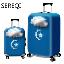 SEREQI Thicken City Luggage Cover Travel Suitcase Luggage Cover for 18'' - 32'' Luggage Cover