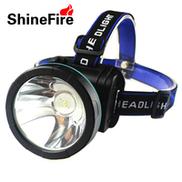 LED Headlamp CREE XML T6 Headlight Waterproof Head Torch USB Charger Rechargeable Used As Power Bank