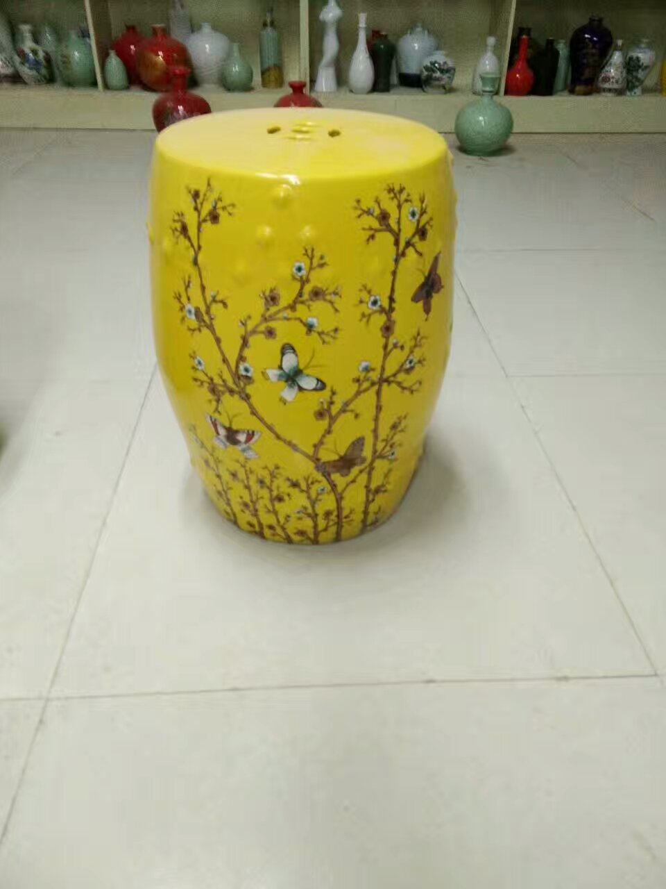 Magnificent Us 269 0 Butterfly Jingdezhen Porcelain Garden Stool Ceramic Stool For Dressing Table Drum Chinese Antique Porcelain Chinese Gard In Stools Unemploymentrelief Wooden Chair Designs For Living Room Unemploymentrelieforg