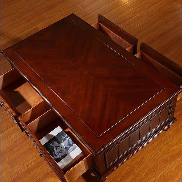 American Style Coffee Table Tv Cabinet To Do The Old Retro Rustic Wood Combination Of Small Units Teasideend