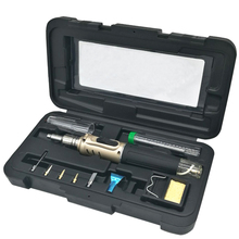 10 in 1 Soldering Iron Set HS-1115K Professional Butane Gas Soldering Iron Welding Tools(China)