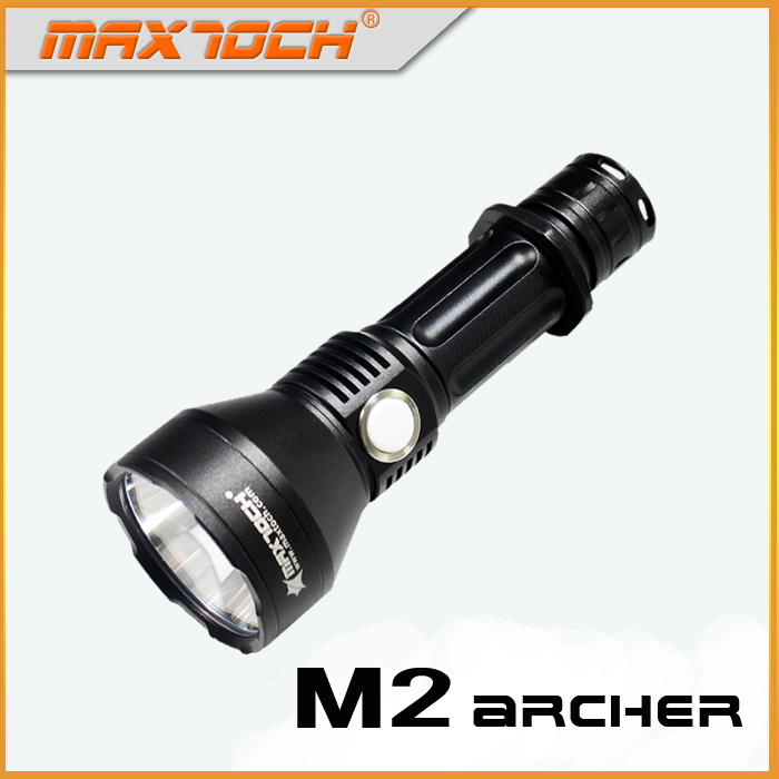 MAXTOCH Archer M2 2000lm 600 meters Luminus SST 40 W P2 LED Stepless Dimming Function Torch
