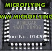 20PCS ATMEGA8 ATMEGA8-16AU QFP32 IC