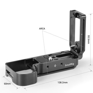 Image 3 - Smallrig A7M3 A7R3 L Beugel Voor Sony A7SIII A7III A7RIII A9 Arca Swiss Standaard L Plaat Montageplaat 2122