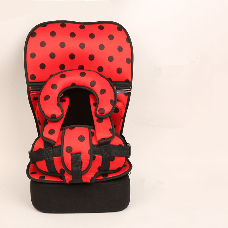 1 Piece Spots Baby Portable Car Seat Cushion Child Safety Seat Kid Simple Dining Chair Small/Big Size Increase Pad Optional