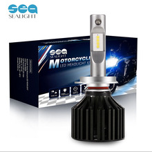 SEALIGHT Motorcycle H7 LED Headlight Lamp Bulbs 25W 6000LM Kit LED Chips Cool White 6000K MOTO High Beam/Low beam Bulbs