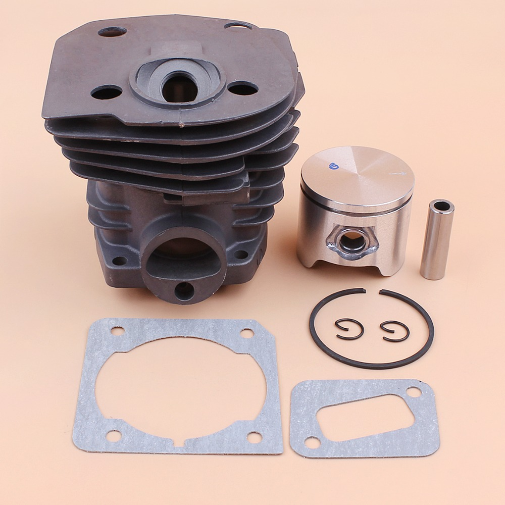 44mm Cylinder Head Piston Gasket Kit For HUSQVARNA 350 346 246XP 351 353 Chainsaw 503869971 44mm cylinder head piston gasket kit for husqvarna 350 346 246xp 351 353 chainsaw 503869971