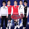 New Children Competition Girl School Team Uniforms Kids Performance Costume Sets Girls Class Suit Girl Student