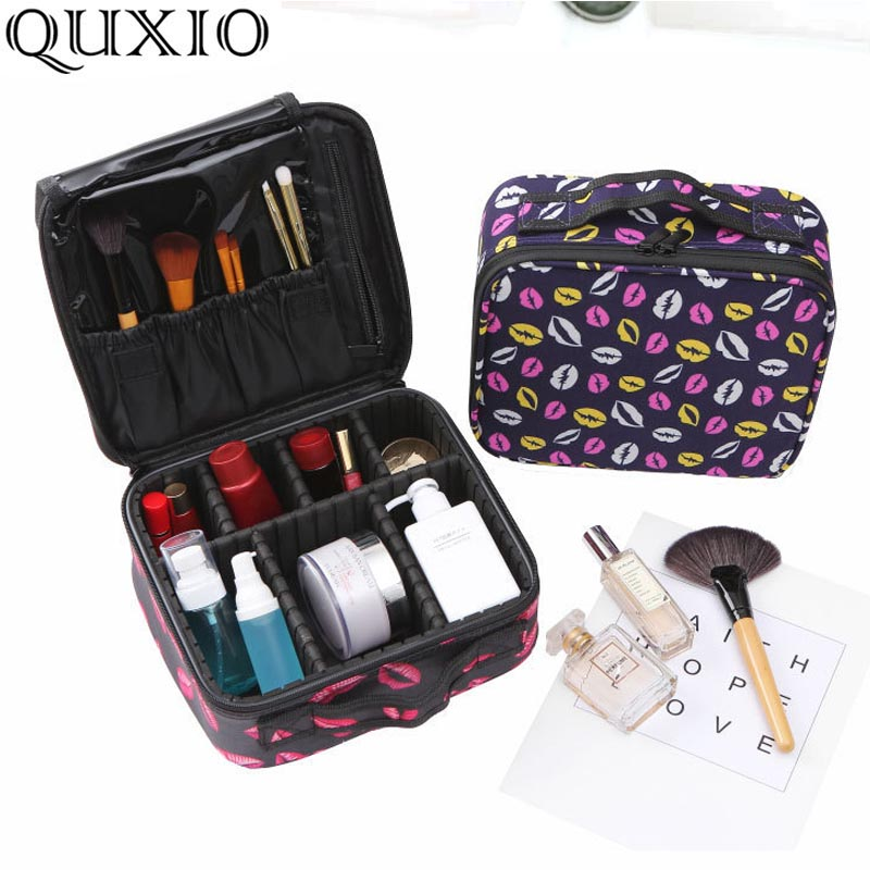 Cosmetic-Case Travel-Bag Tattoo Big-Capacity Portable New CZ279 Clapboard Simple