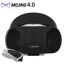 Baofeng Mojing IV 4 VR Гарнитура 3D Очки Google картон Для Смартфонов Виртуальной Реальности 3D Частный Театр + Bluetooth Геймпад