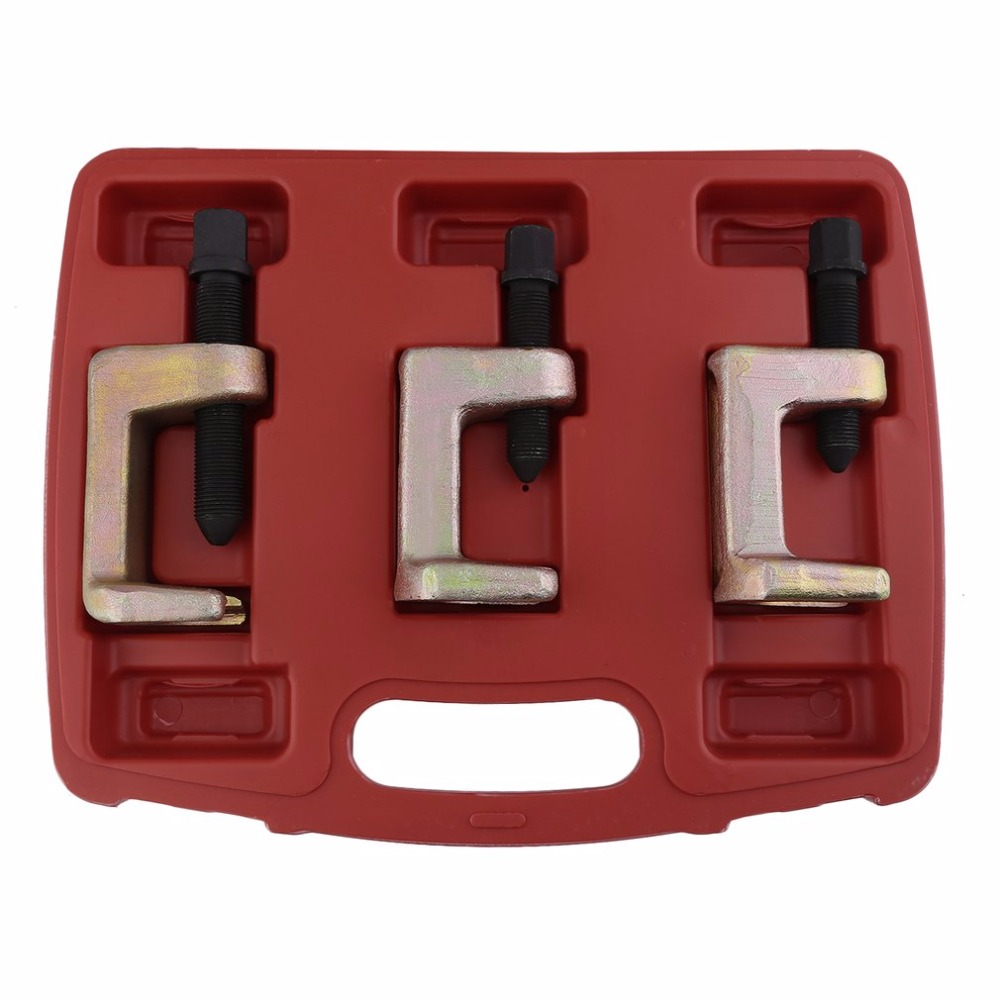 New 3 PCS Ball Joint Puller Set Durable Ball Joint Extractor Universal Ball Head Puller Professional Tie Rod Tool Set