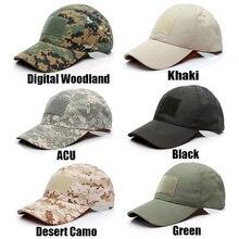 Casquette tactique Camouflage, casquette de Baseball pour l'extérieur, casquette militaire de chasse Airsoft pour la chasse en plein air, pêche, randonnée