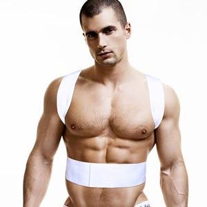Image 3 - גברים גופיית כותנה זכר ספורטאי יציבה אפוד גופיית גברים גברים של אפוד הומו בגדי colete postura