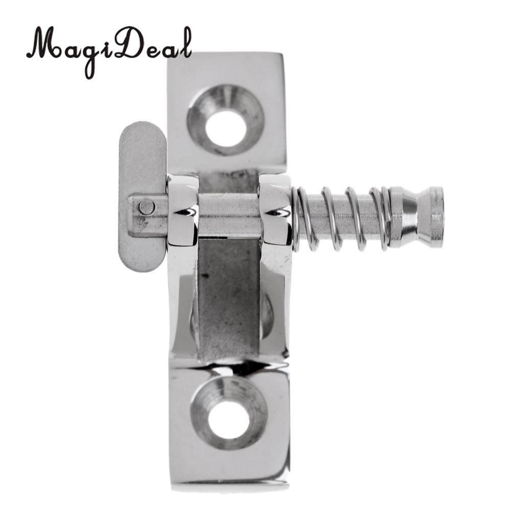 MagiDeal 2 Pcs Boat Deck Hinge Bimini Top Hinge 180 Degree Stainless Steel