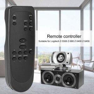 Image 1 - ABS Ersatz Computer Lautsprecher Fernbedienung für Logitech Z 5500 Z 680 Z 5400 Z 5450 Lautsprecher Zubehör