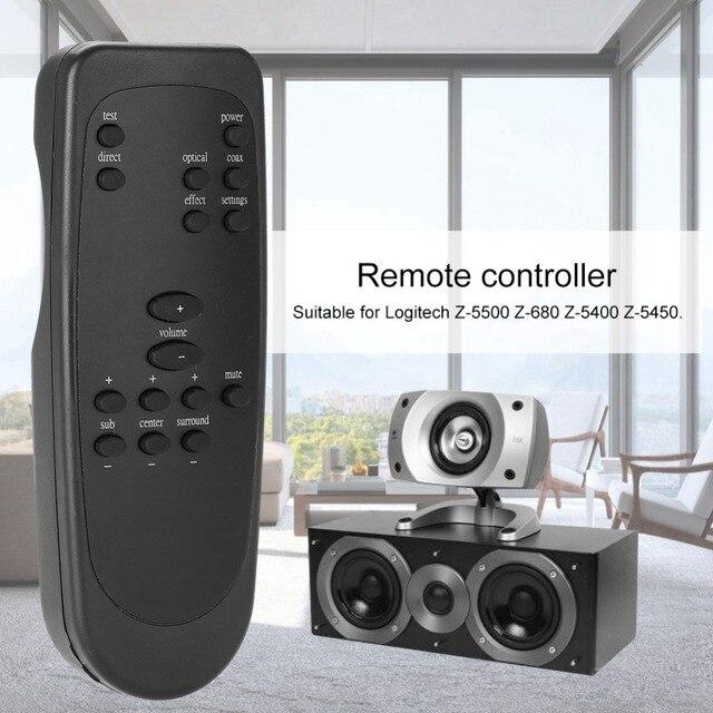 ABS Ersatz Computer Lautsprecher Fernbedienung für Logitech Z 5500 Z 680 Z 5400 Z 5450 Lautsprecher Zubehör