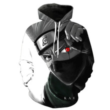Anime Naruto anime cosplay Hoodie Pullover Sweater Jacket Naruto Men's clothing casual sports 3D printing